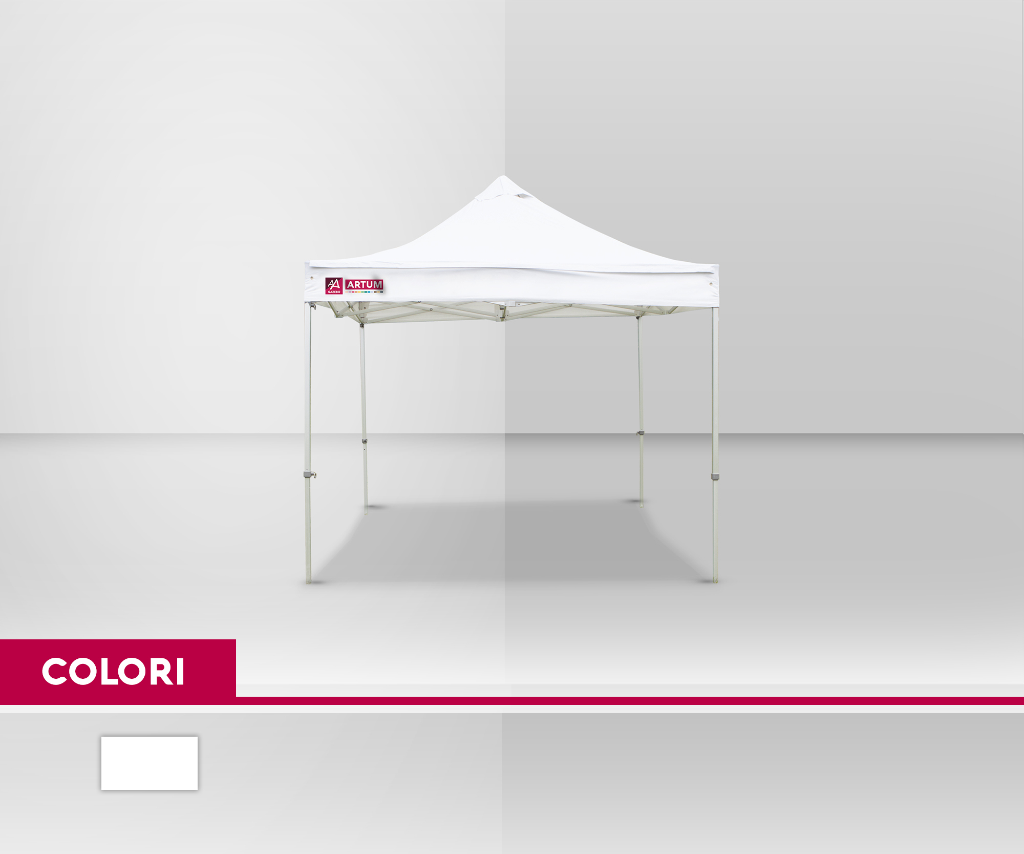 colore Gazebo 4x4 Alluminio