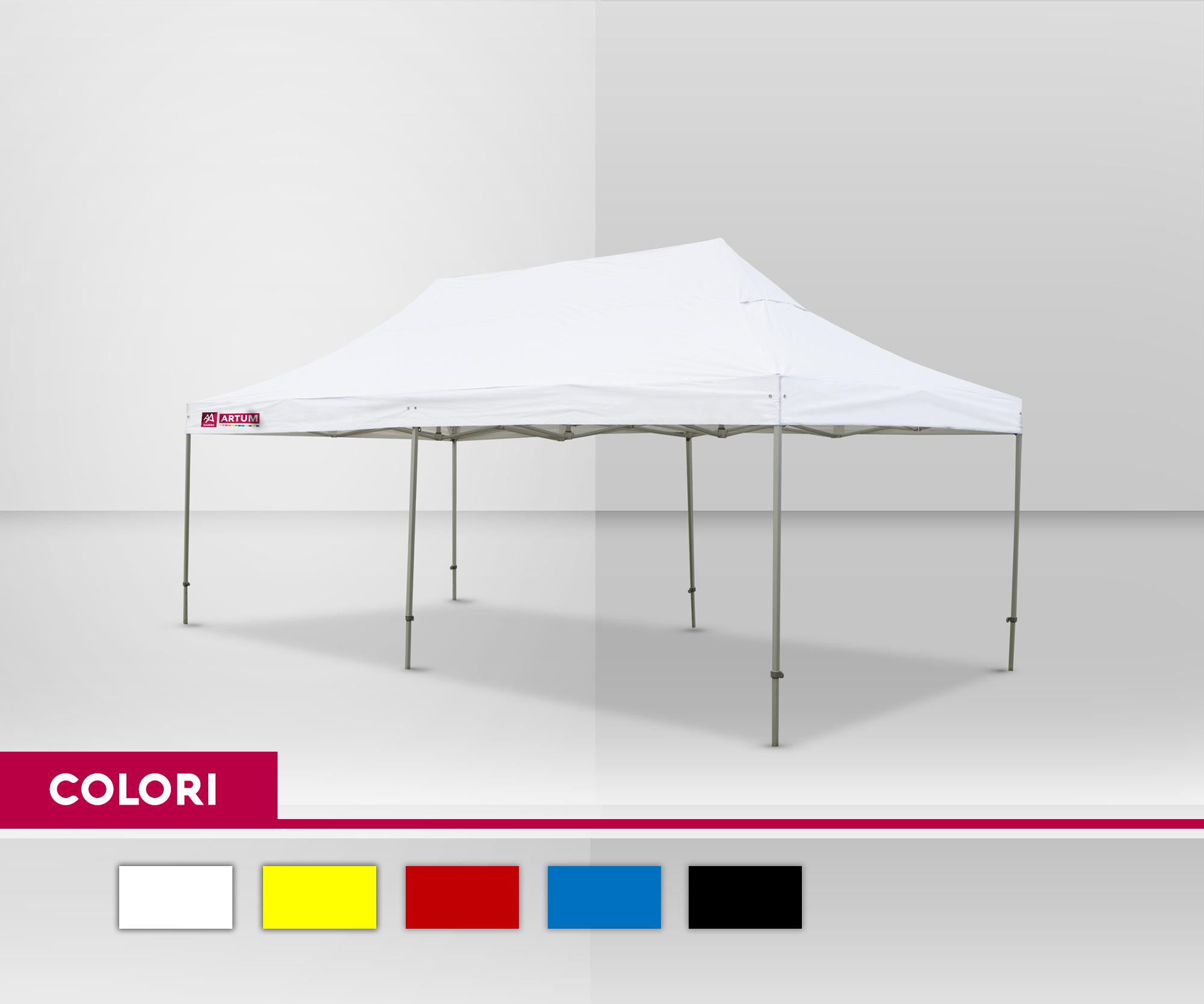 colore-Gazebo-Pieghevole-mt-3x6-Alluminio