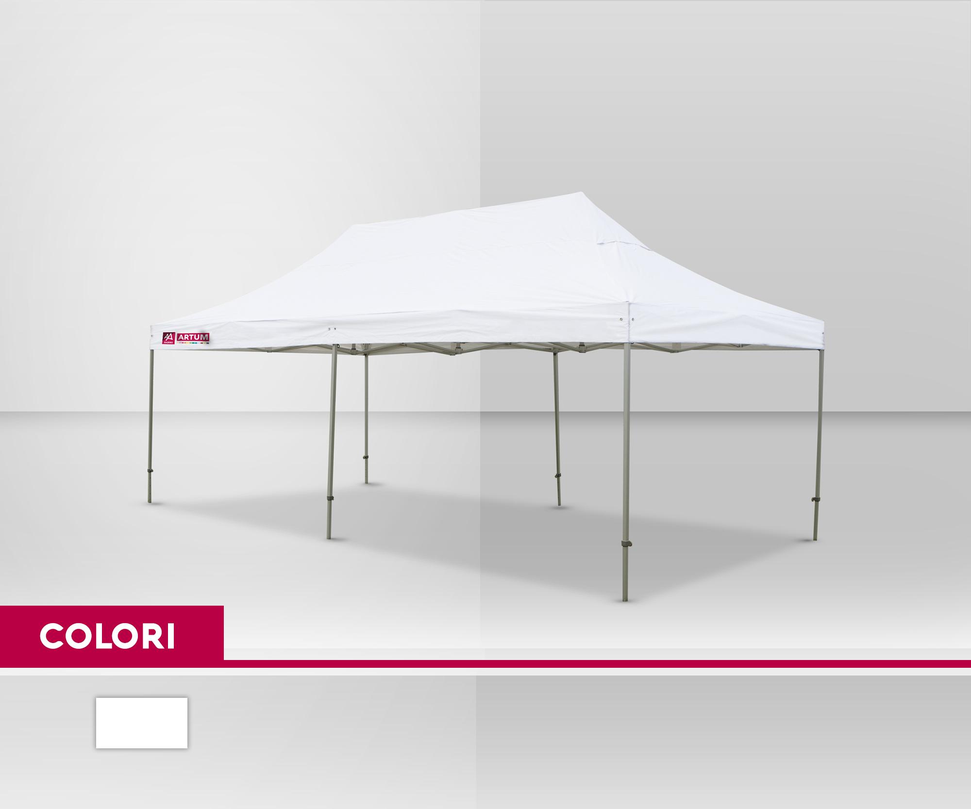 colore Gazebo Pieghevole mt 3x6 Alluminio